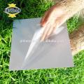 JINBAO 0.5 MM 0.8 MM 1 1.5mm 2 cola lado tamanho personalizar preço da folha de pvc preto