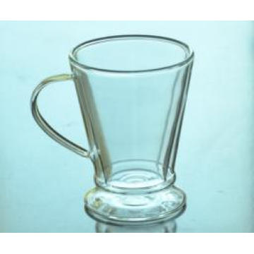Factory Supply 280ml Beer Mug Promotional Beer Glass Cup with Handle