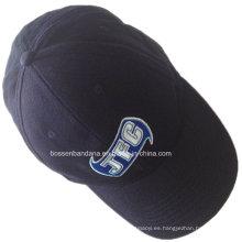 Fábrica OEM Produce insignia promocional personalizada promocional insignia bordada de algodón Gorra de béisbol
