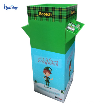 Dump Bin Display Advertising shop counter design pan shop