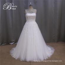 Chiffon Grecian Bridal Wedding Dress
