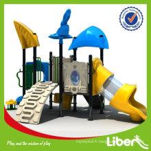 Kids Playland Kindergarten Équipement de terrain de jeu LE-FF008 Garantie de qualité
