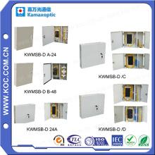 Kwmsb-D / a Boîte de distribution à fibre optique avec porte 12-72 Fibres