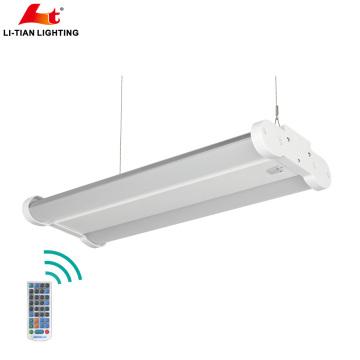 ETL a mené l'éclairage commercial et industriel d'éclairage de secours 100watt LED linéaire Highbay