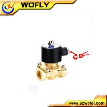 1/4 Zoll 1/8 Zoll dc12v / 24v Messing / Edelstahl normalerweise geschlossenes Wassermagnetventil