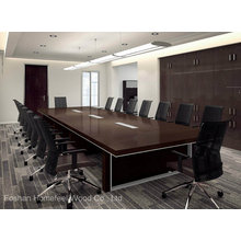 Hochwertige Massivholz-Konferenztisch (HF-Ltd112)