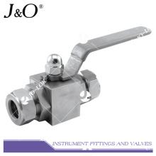Válvula de esfera manual de aço inoxidável 316