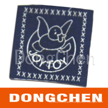 Fashion Garment Nylon Fabric Label/ Textile Label (DC-WOV003)