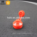 red plastic flip top cap 24/400