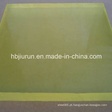 Folha de plutônio amarelo claro com alta resistência ao rasgo