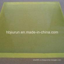 Светло-желтый лист PU с высокой прочностью на разрыв