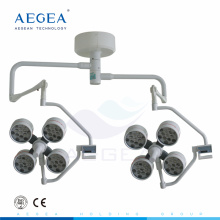 AG-LT013 Operating room ceiling mounted two heads lighting therapy led lamp surgical
