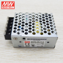 UL RS-15-12 da fonte de alimentação do interruptor da CC da saída 15W 12V da MW único