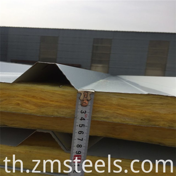rook wool sandwich panel for roof and wall