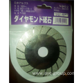 "4"" Diamond coated flat grinding cutting wheel disc"