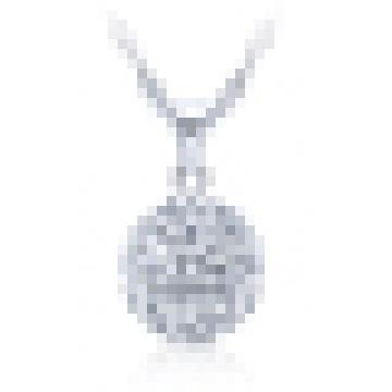 925 стерлингового серебра из бисера ожерелье для женщин с цепью