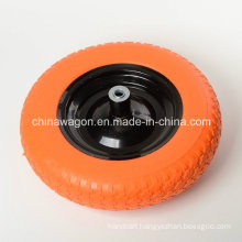 "14"" Flat Free Light Weight Wheelbarrow Tire"