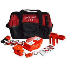 CE marked hot sale metal safety lockout tagout kit