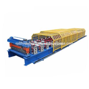 Galvanized Steel IBR Roof Sheet Roll Forming Machine