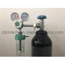 Hospital Medical Double-Gauge Oxygen Cylinder Regulator