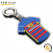 T-Shirt Shaped Customise PVC Key Tags Ym1117