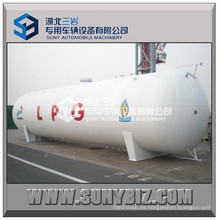 60m3 China Fabricación Horizontal Tipo LPG Propano Tanque de almacenamiento