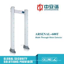 24 Zones Alarm APP Remote Control Door Frame Metal Detector
