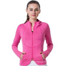 Women Running Gym Fitness Jackets Yoga Sport Jacket