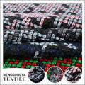 China factory Professional Colorful polyester fabric chenille for sofa