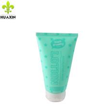 tube d'emballage de lotion de corps célèbre tube d'emballage en plastique