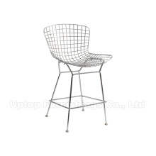 Knoll Furniture Metal Wire Harry Bertoia Stool (SP-HBC430)
