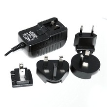 Adaptador do poder do curso de 12V 2A com plugue destacável