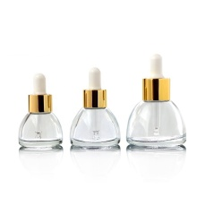 Triangle glass dropper bottle/ essence oil bottle