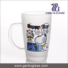 Decalque vidro caneca / copo, impresso copo / copo, impressão vidro caneca (GB094212-DR-113)