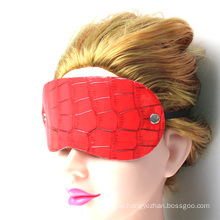 Eye Mask Red Adult Sex Toy Crocodile Grain China Good Quality Sex Tool