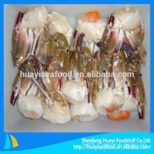 Promotion de différentes tailles de crabe de natation à moitié couper congelé à bas prix
