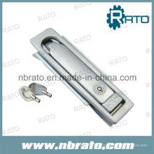Cerradura de la puerta del panel eléctrico de la manija del oscilación