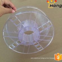 Bobina de bobina plástica vacía de alta calidad para el precio de fábrica del filamento de la impresora 3D