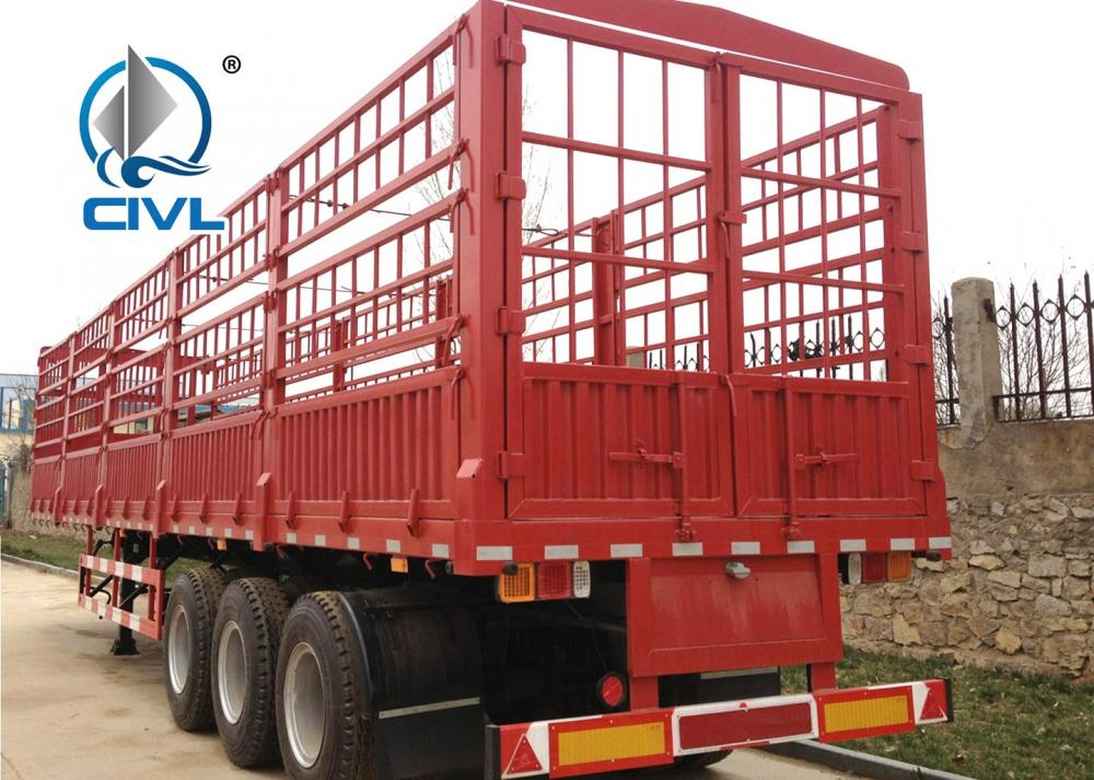 3axle Cargo Semitrailer 9