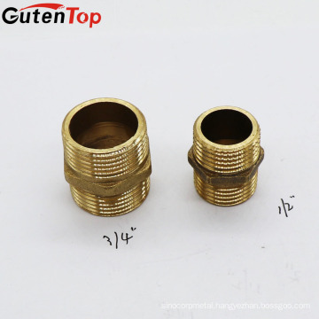 LB Guten top 3/4 inch Pipe Fitting Dimension Hydraulic Brass Copper Pipe Fitting for water