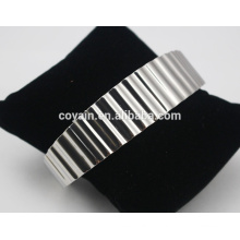 2016 Großhandelsqualitäts-unbelegte Stulpe-Armband-Schmucksache-Edelstahl-Armbänder