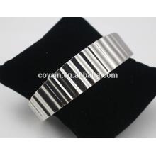 2016 atacado de alta qualidade em branco pulseira bracelete pulseiras de aço inoxidável