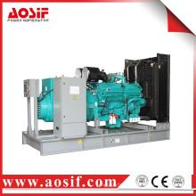 China 1100kw / 1375kva generador usado a prueba de sonido KTA38-G9 generador diesel
