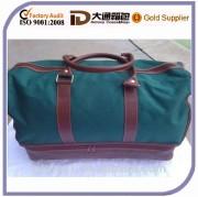 Green High Quality Canvas Duffle Bag