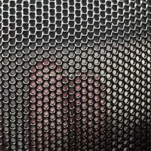 Tela anti-roubo da janela do revestimento cinzento do pó