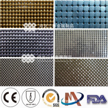 Popular Design 100 Polyester Mesh Fabric of Sequin Net Embroidery Fabric
