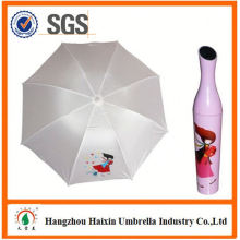 OEM/ODM Fabrik liefern Custom Drucken 3 Falten gestreiften Schirm