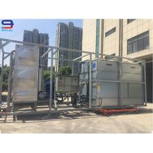 Torre de enfriamiento de flujo cruzado de circuito cerrado de 150 toneladas GHM-150 para torre de enfriamiento de horno de frecuencia intermedia