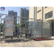 150 Ton Closed Circuit Cross Flow Cooling Tower GHM-150 For Intermediate Frequency Furnace Cooling Tower