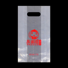 Clear Grocery Bag Punch Merchandise Bag